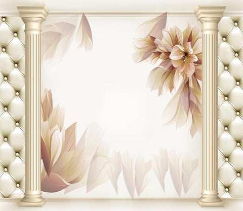 3D Blossoming Flowers 23 Wallpaper AJ Wallpaper