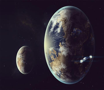 3D Universe Earth Plannet 03 Wallpaper AJ Wallpaper