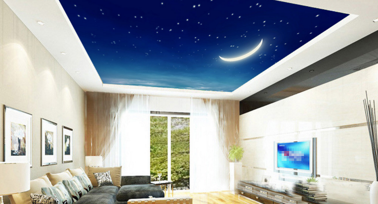 Crescent Moon Sky Wallpaper AJ Wallpaper 2