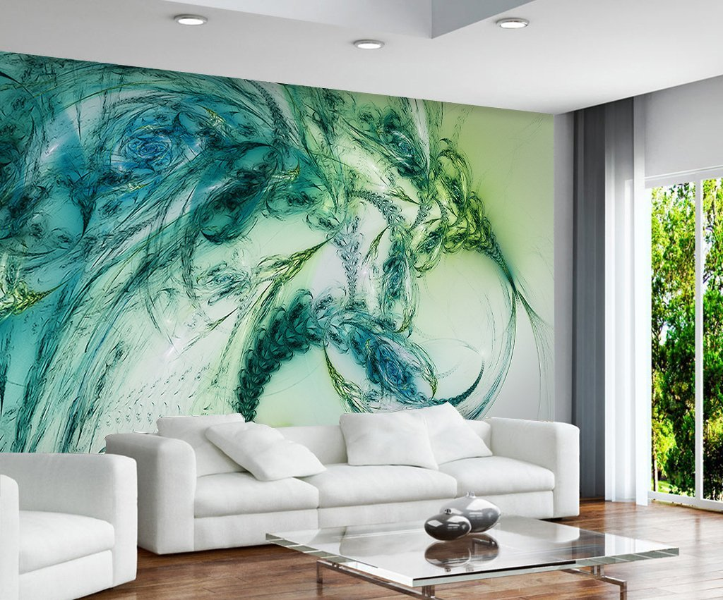 3D Abstract Lines 345 Wall Murals Wallpaper AJ Wallpaper 2