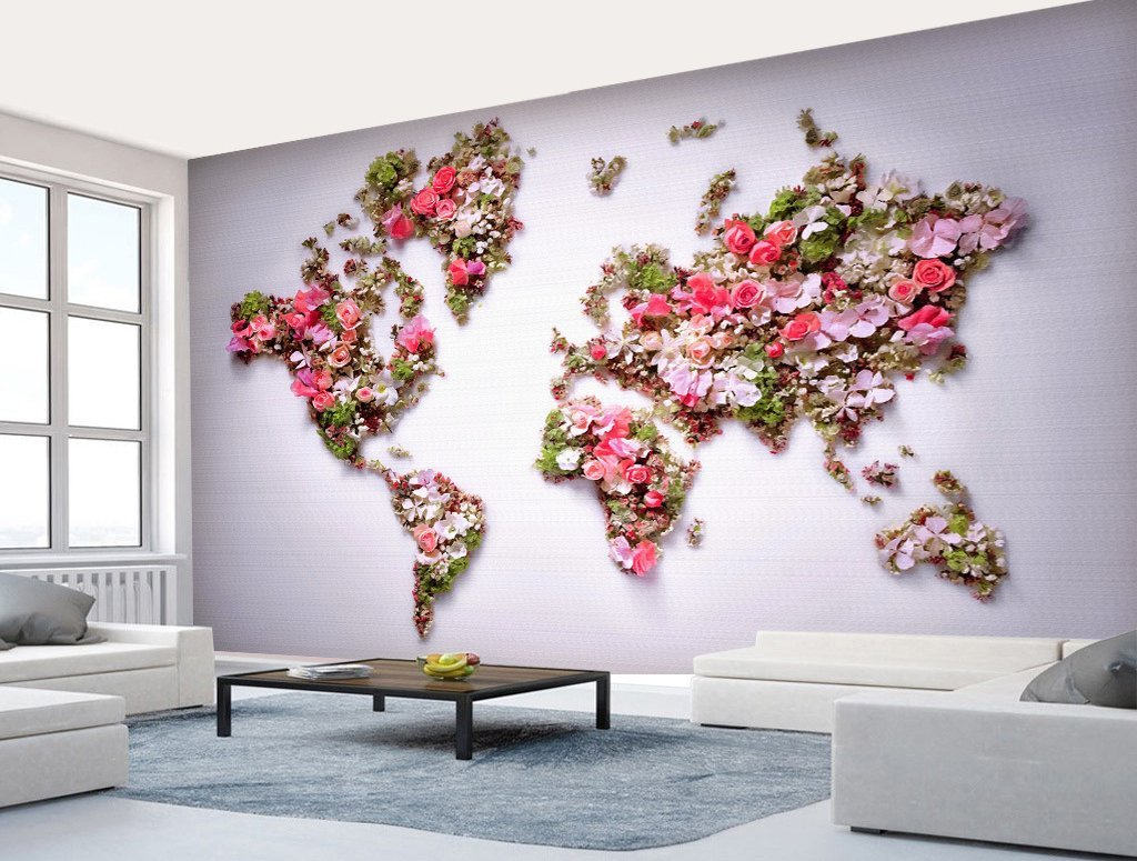 3D Flower 139 Wall Murals Wallpaper AJ Wallpaper 2