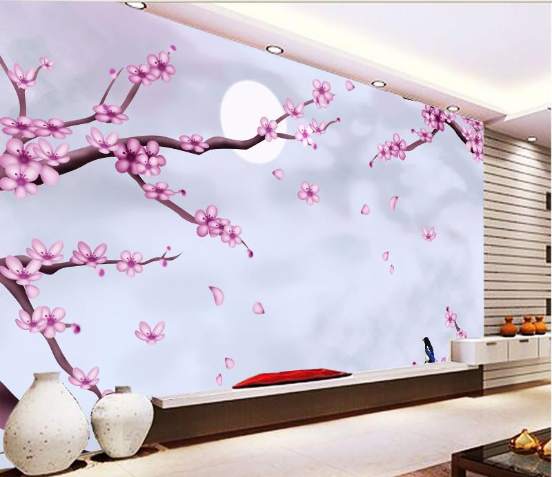 3D Cherry Flower Branch 038