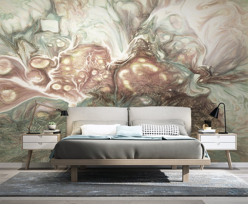 3D Ink Color 106 Wall Murals Wallpaper AJ Wallpaper 2