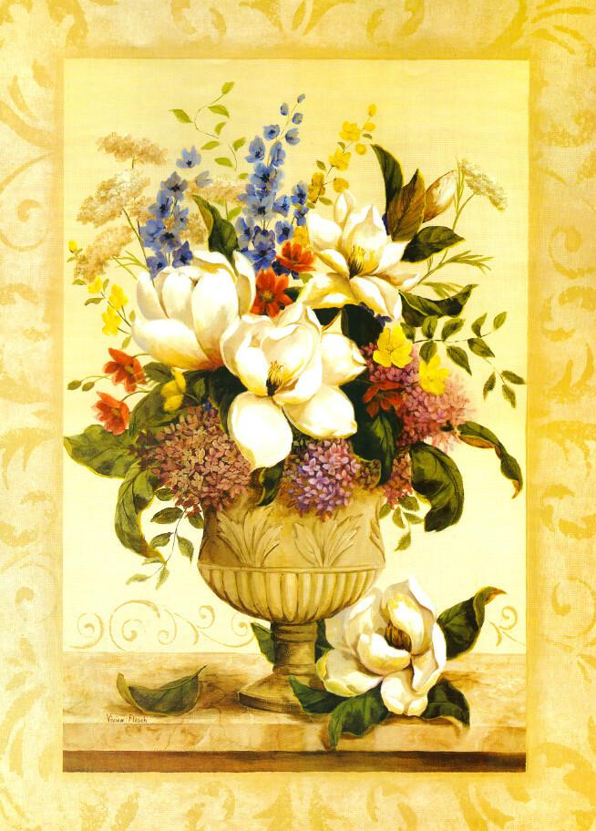 Beautiful Flowers Vase 3 Wallpaper AJ Wallpaper
