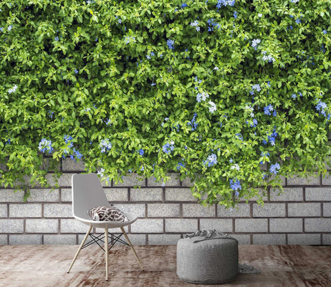 3D Vegetation Wall Plant 1529 Wallpaper AJ Wallpaper 2