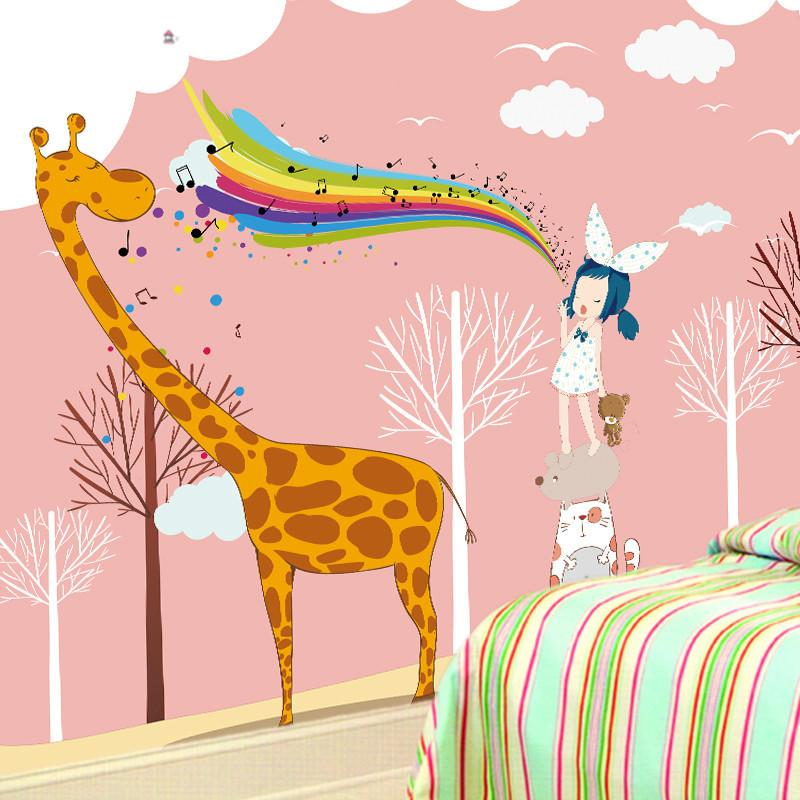 Singing To Giraffe 1 Wallpaper AJ Wallpaper