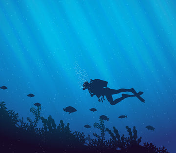 3D Deep Sea Diving 631 Wallpaper AJ Wallpaper