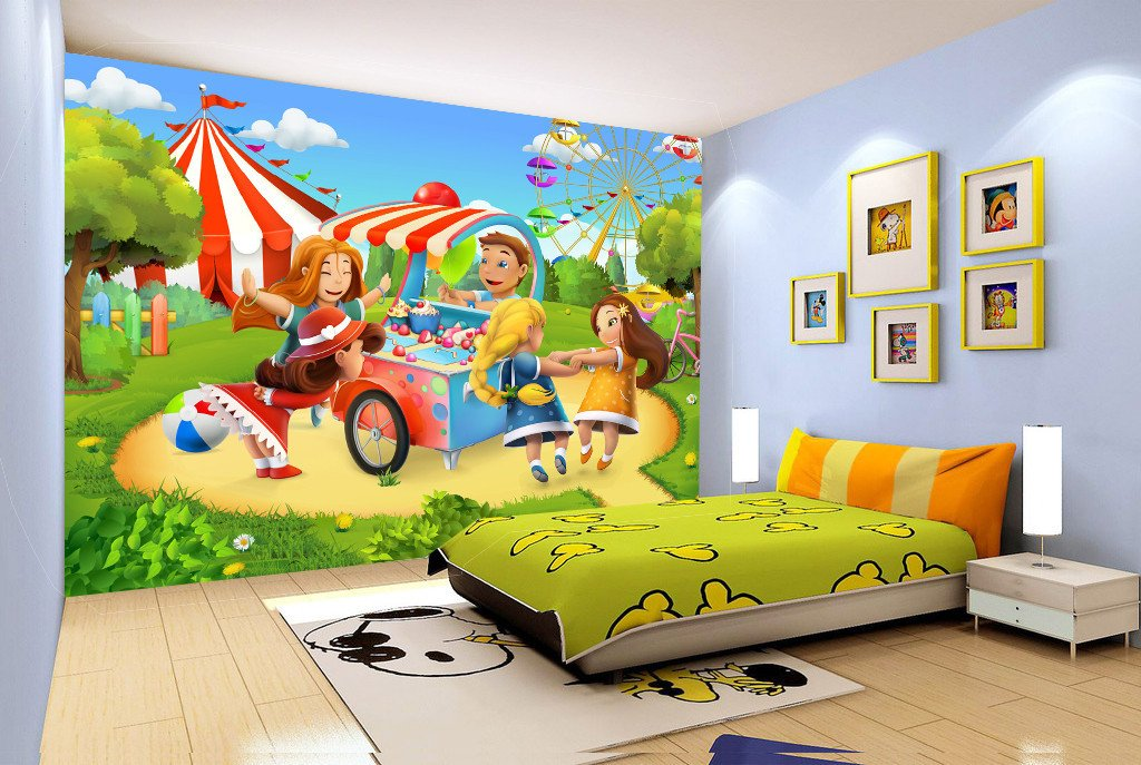 3D Children Playground 67 Wallpaper AJ Wallpaper