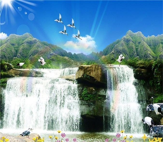3D Blue Sky Pigeon 528 Wallpaper AJ Wallpaper