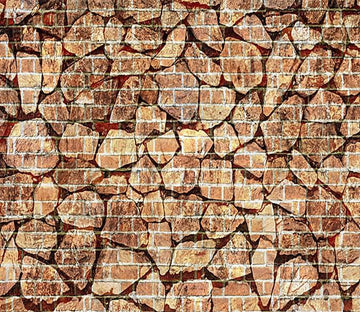 3D Stone Bricks 685 Wallpaper AJ Wallpaper
