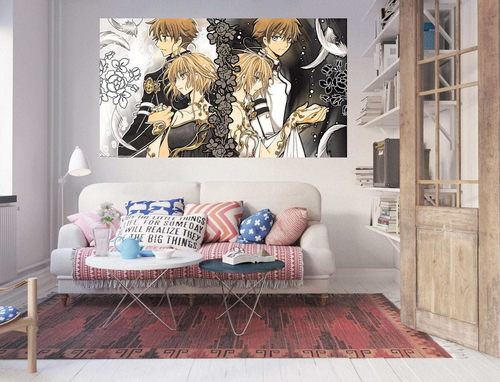3D Tsubasa Reservoir Chronicle 5 Anime Wall Stickers Wallpaper AJ Wallpaper 2