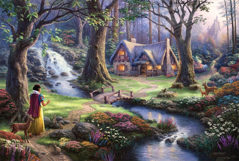 3D Fairy Tale Beautiful Scenery Hand Painting Wallpaper AJ Wallpaper