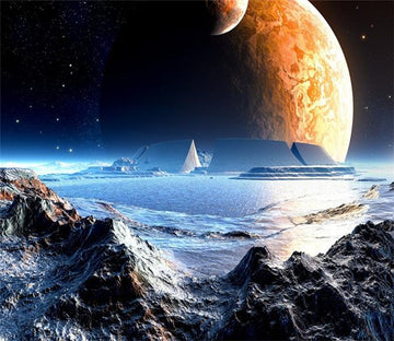 3D Universe Earth Plannet 076 Wallpaper AJ Wallpaper