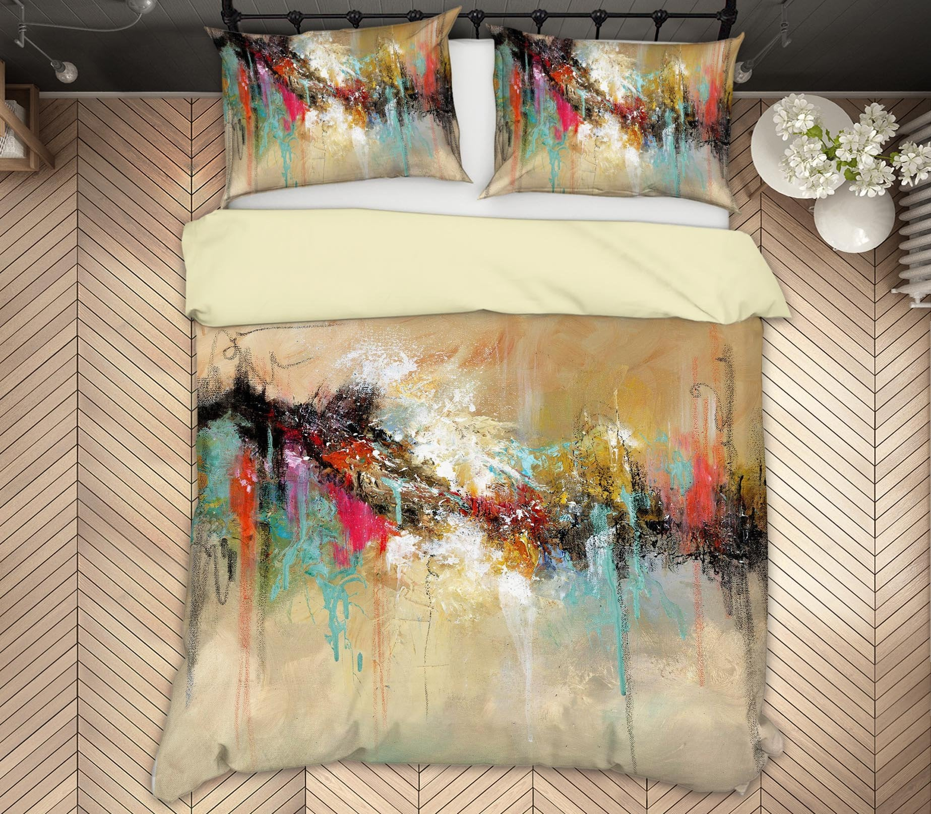 3D Beautiful Scenery 2004 Anne Farrall Doyle Bedding Bed Pillowcases Quilt Quiet Covers AJ Creativity Home