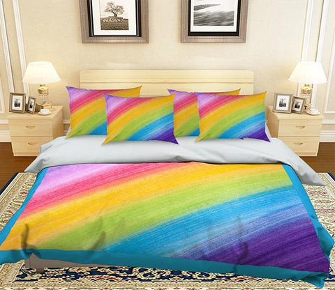 3D Seven Colors 171 Bed Pillowcases Quilt Wallpaper AJ Wallpaper