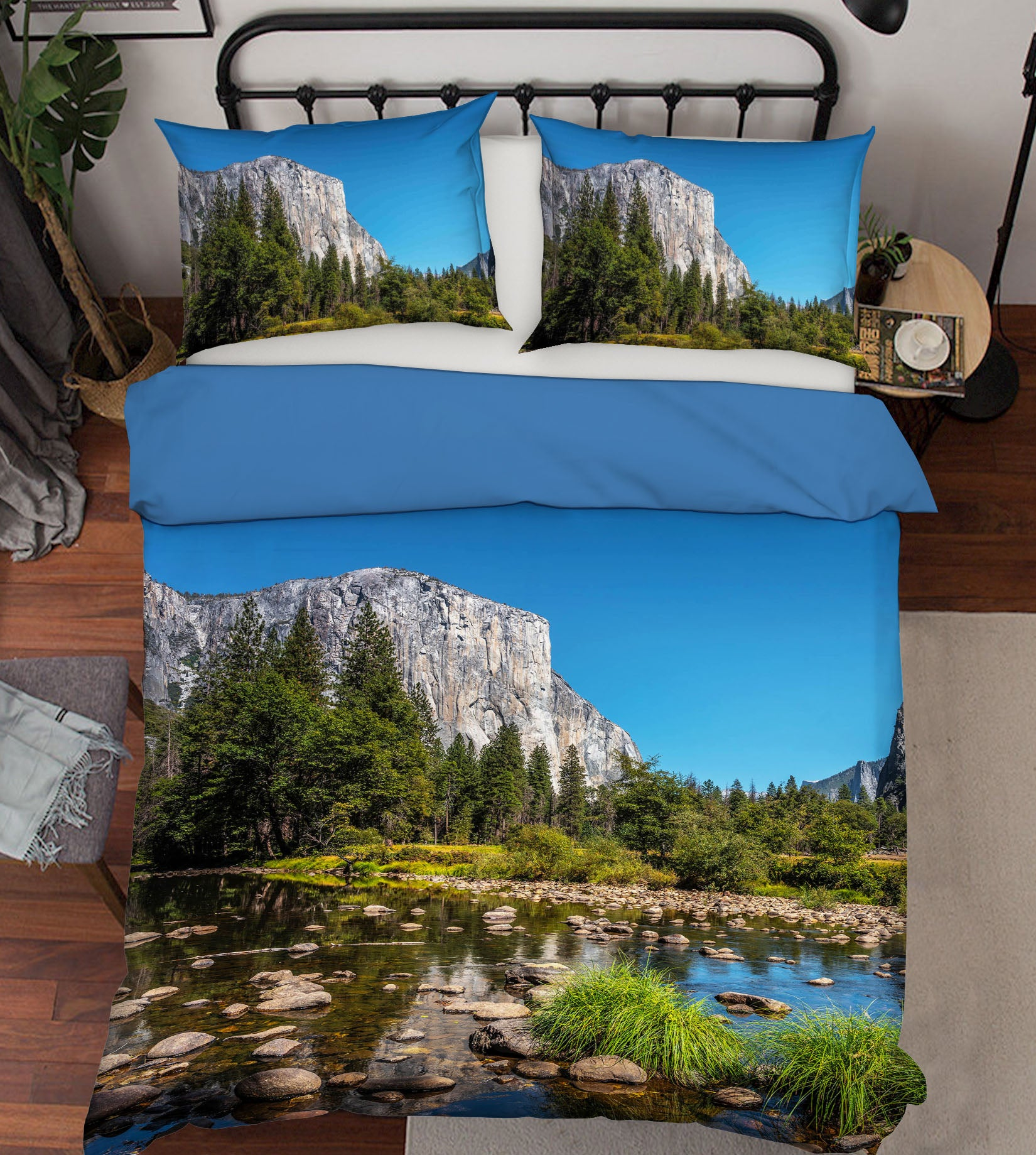 3D Yosemite View 171 Marco Carmassi Bedding Bed Pillowcases Quilt