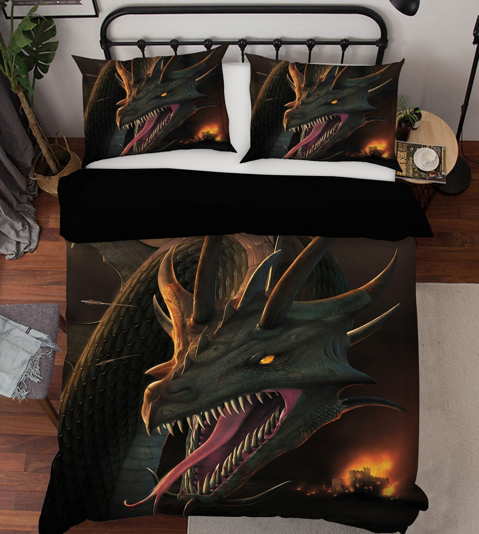 3D Annihilation 2109 Bed Pillowcases Quilt Exclusive Designer Vincent Quiet Covers AJ Creativity Home