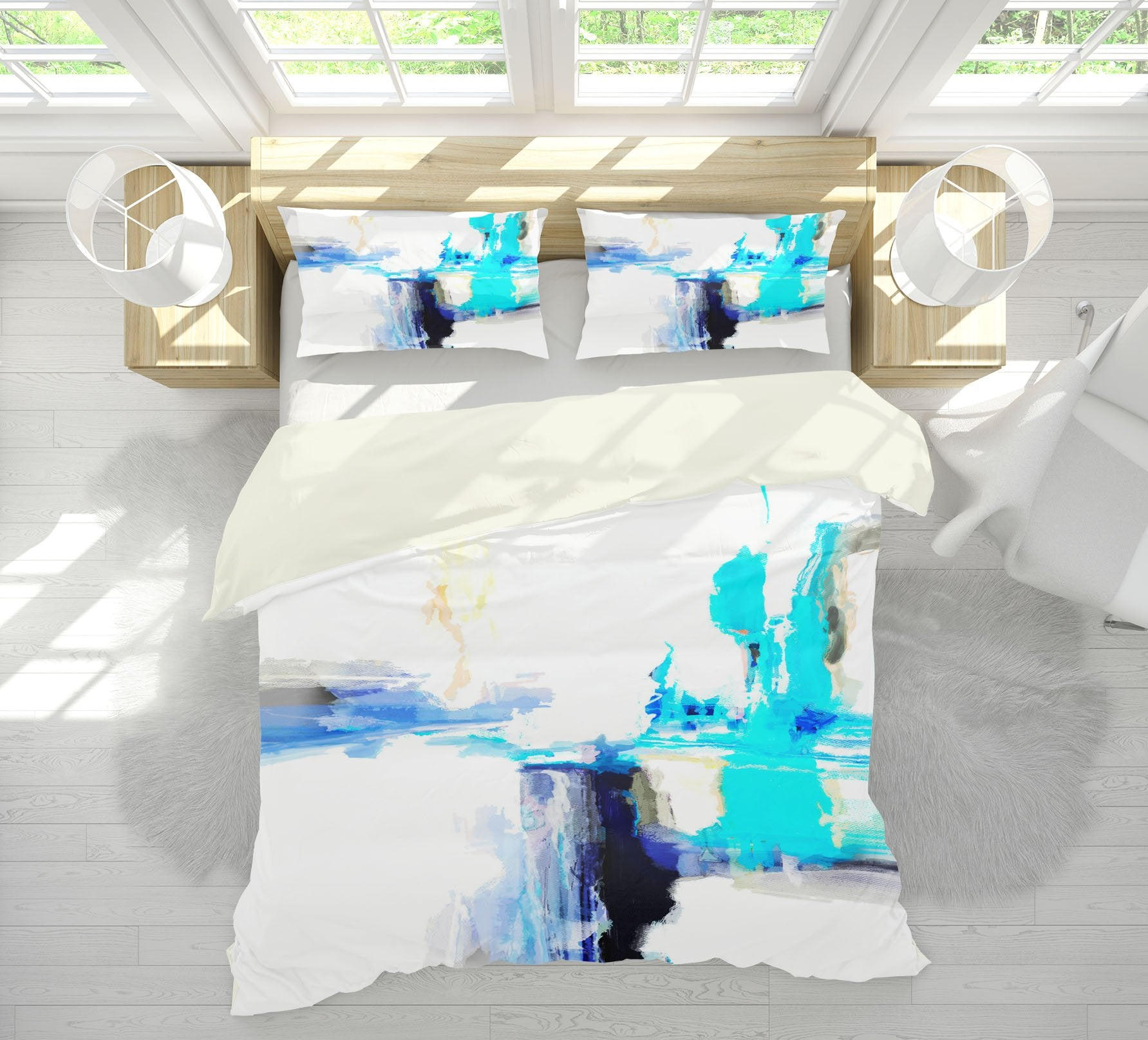 3D Abstract Art 2110 Michael Tienhaara Bedding Bed Pillowcases Quilt Quiet Covers AJ Creativity Home