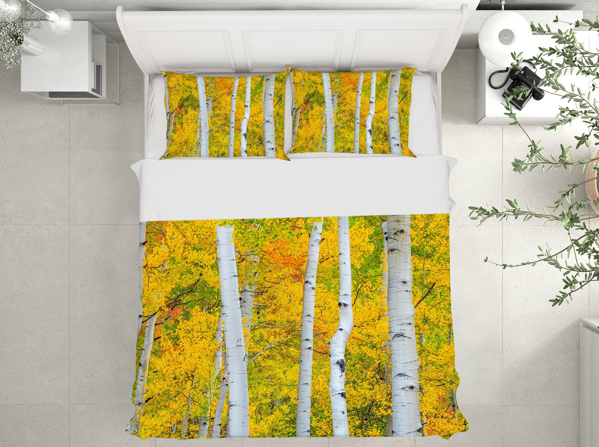 3D Tree Forest 152 Marco Carmassi Bedding Bed Pillowcases Quilt