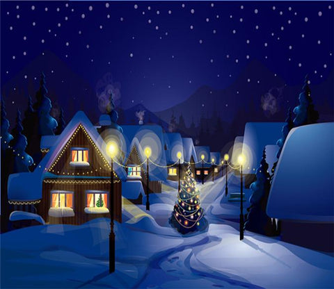 3D Christmas Eve Star Hut 667 Wallpaper AJ Wallpapers