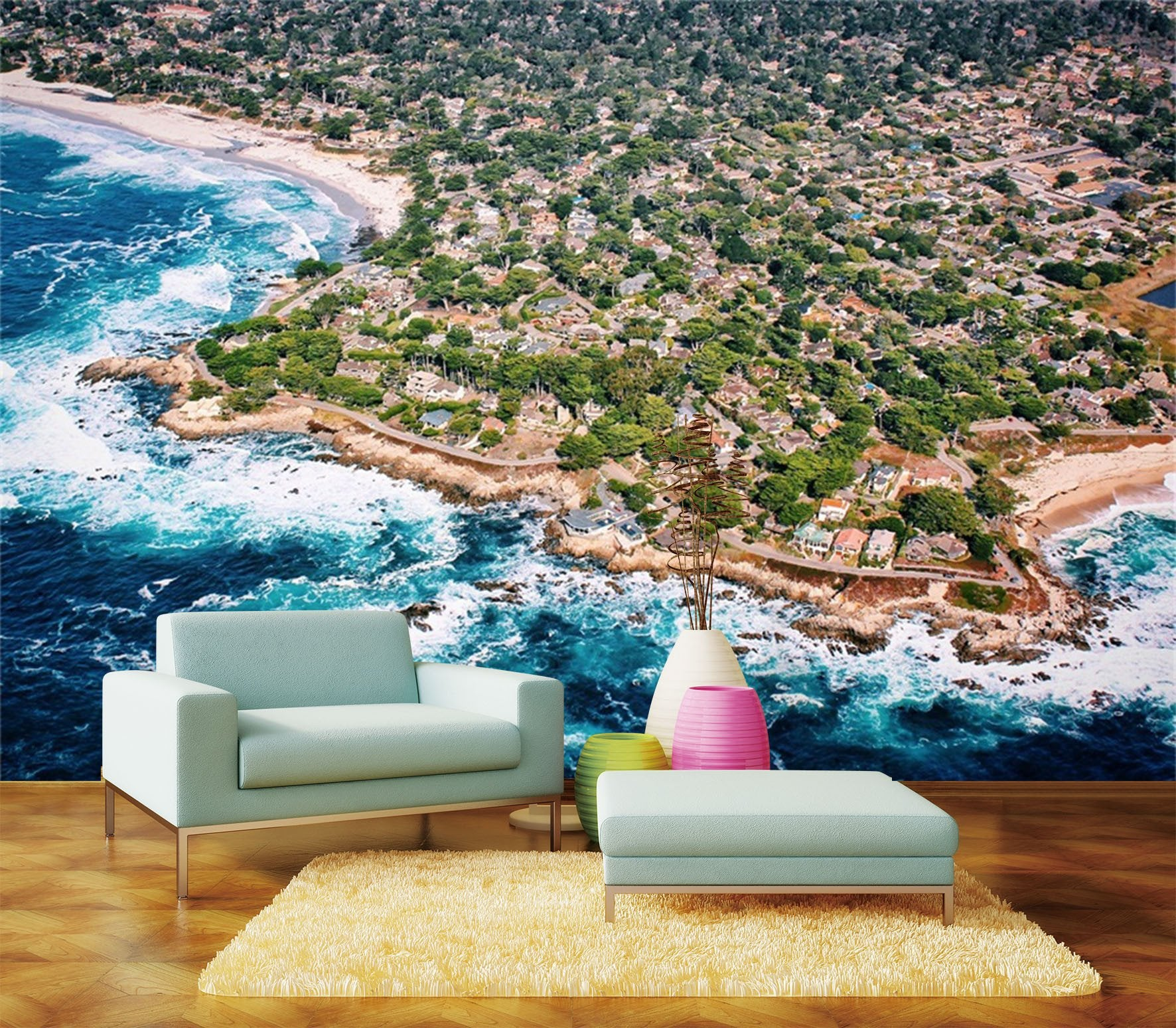3D Beach Coastal 231 Wallpaper AJ Wallpaper