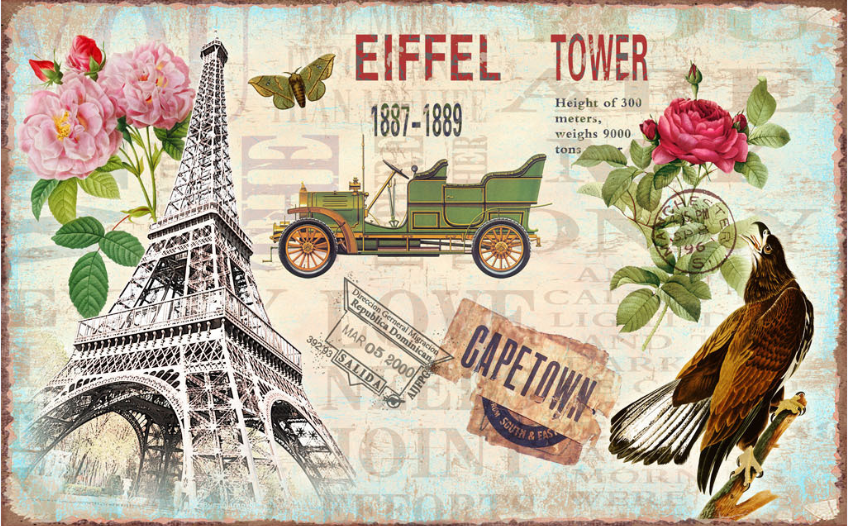 Grand Eiffel Tower Wallpaper AJ Wallpaper