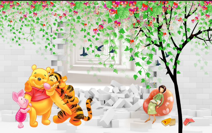3D Friendly Animals Wallpaper AJ Wallpaper