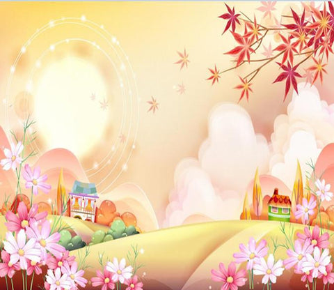 Cartoon Outskirts And Maple Tree 5 Wallpaper AJ Wallpaper 1