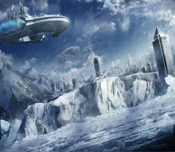 Iceberg Airship 92 Wallpaper AJ Wallpaper
