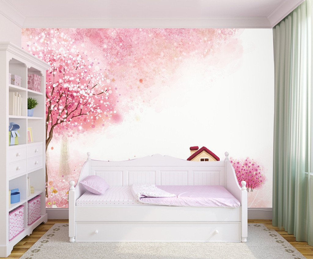 3D Cherry Flower Tree 015 Wallpaper AJ Wallpaper
