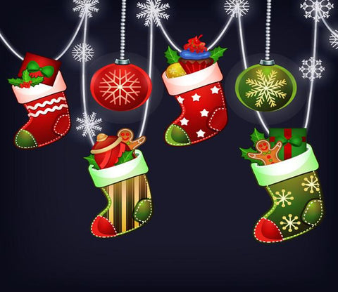 3D Christmas Cheer Gifts 662 Wallpaper AJ Wallpaper