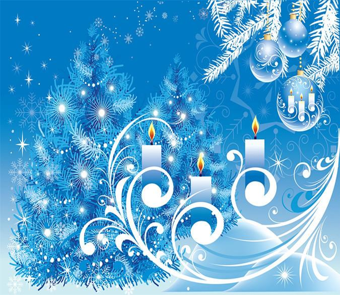 3D Christmas Candle 556 Wallpaper AJ Wallpaper