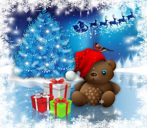 3D Christmas Bear Toy 6 Wallpaper AJ Wallpaper