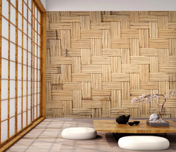 3D Mat Wood 096 Wallpaper AJ Wallpaper