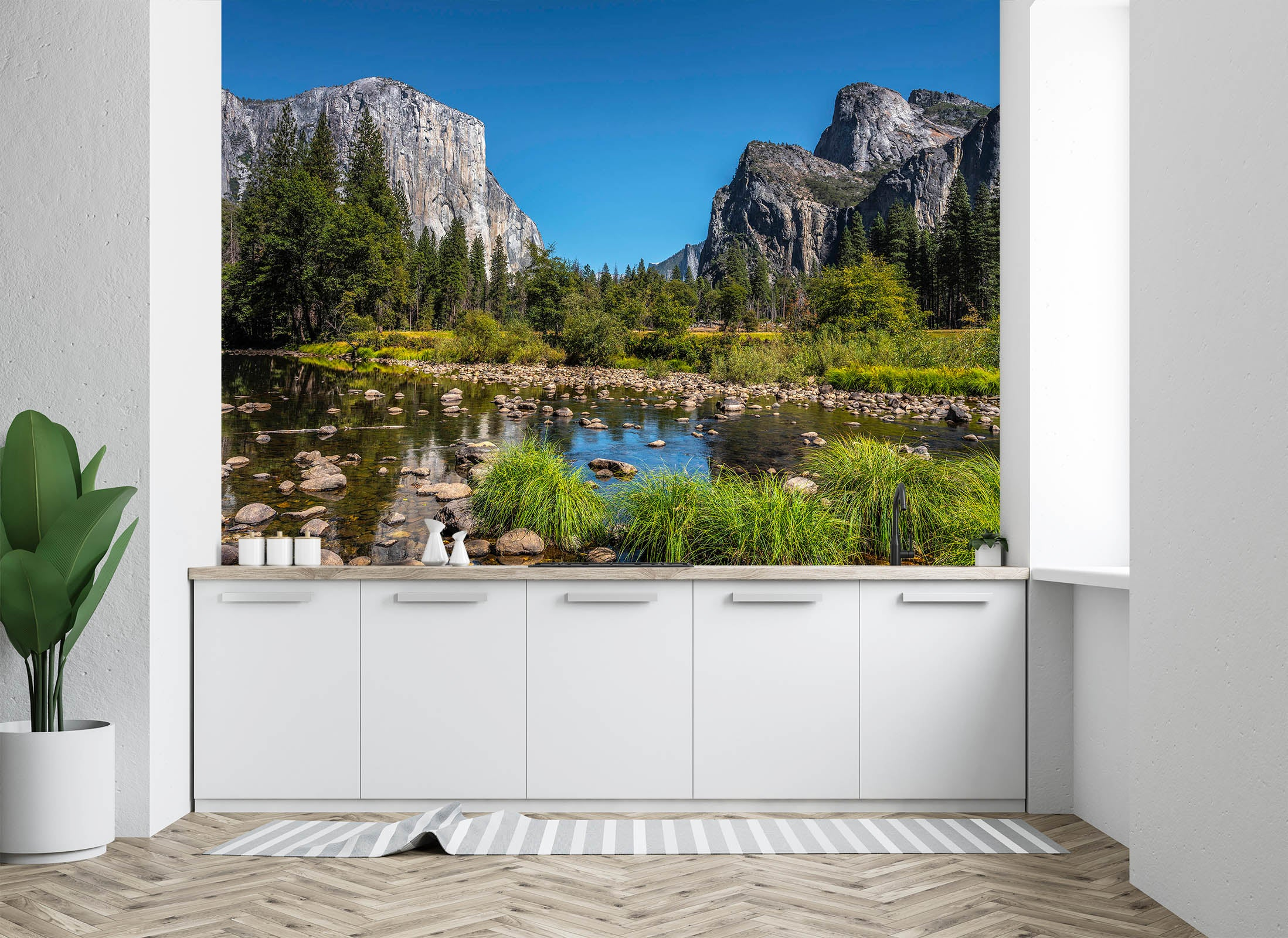 3D Forest Pond 1455 Marco Carmassi Wall Mural Wall Murals