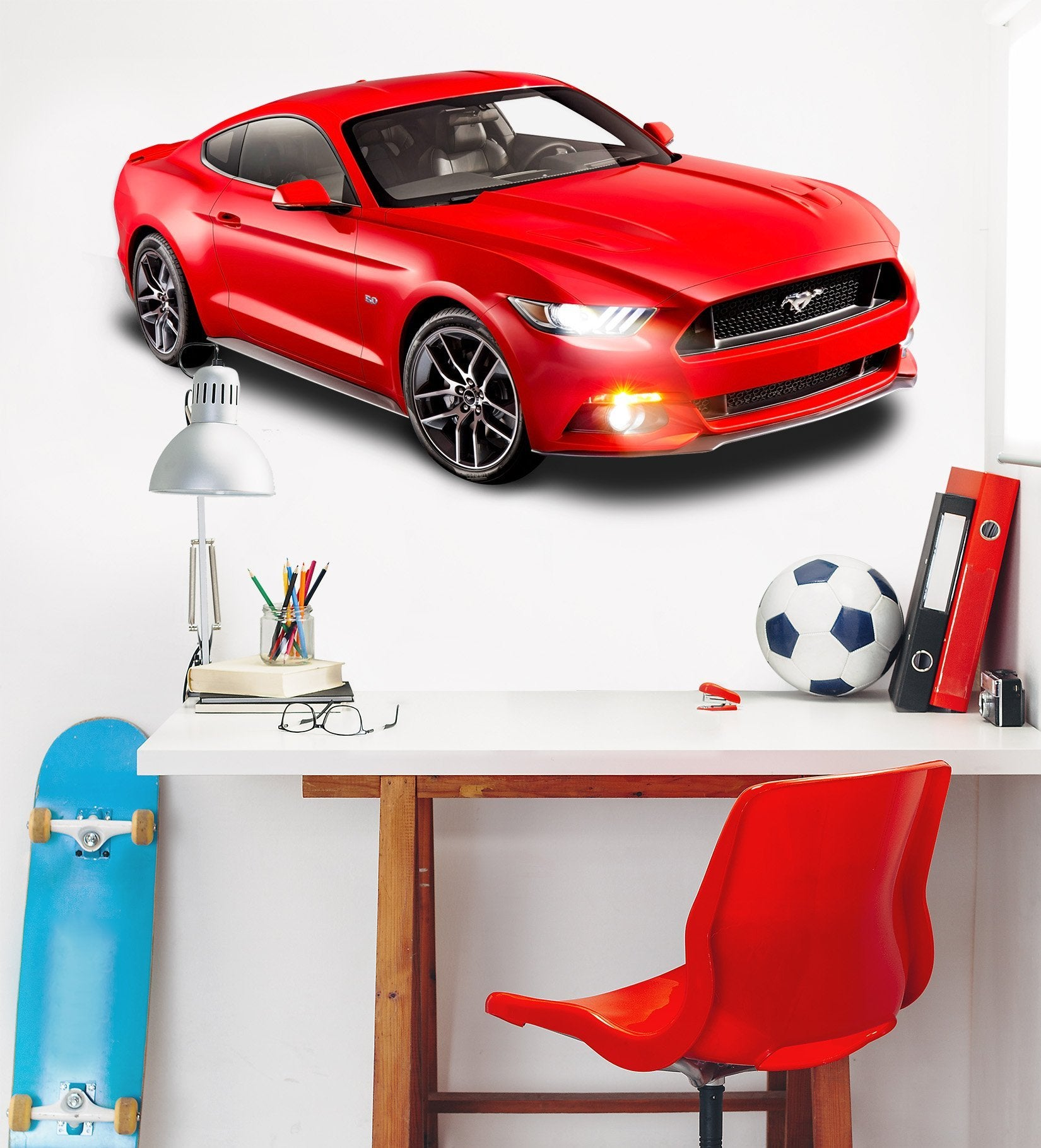 3D Ford Mustang 0285 Vehicles Wallpaper AJ Wallpaper