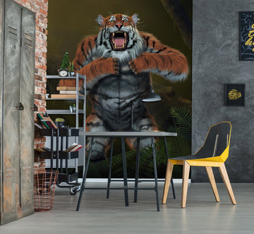 3D Tigerilla 1559 Wall Murals Exclusive Designer Vincent