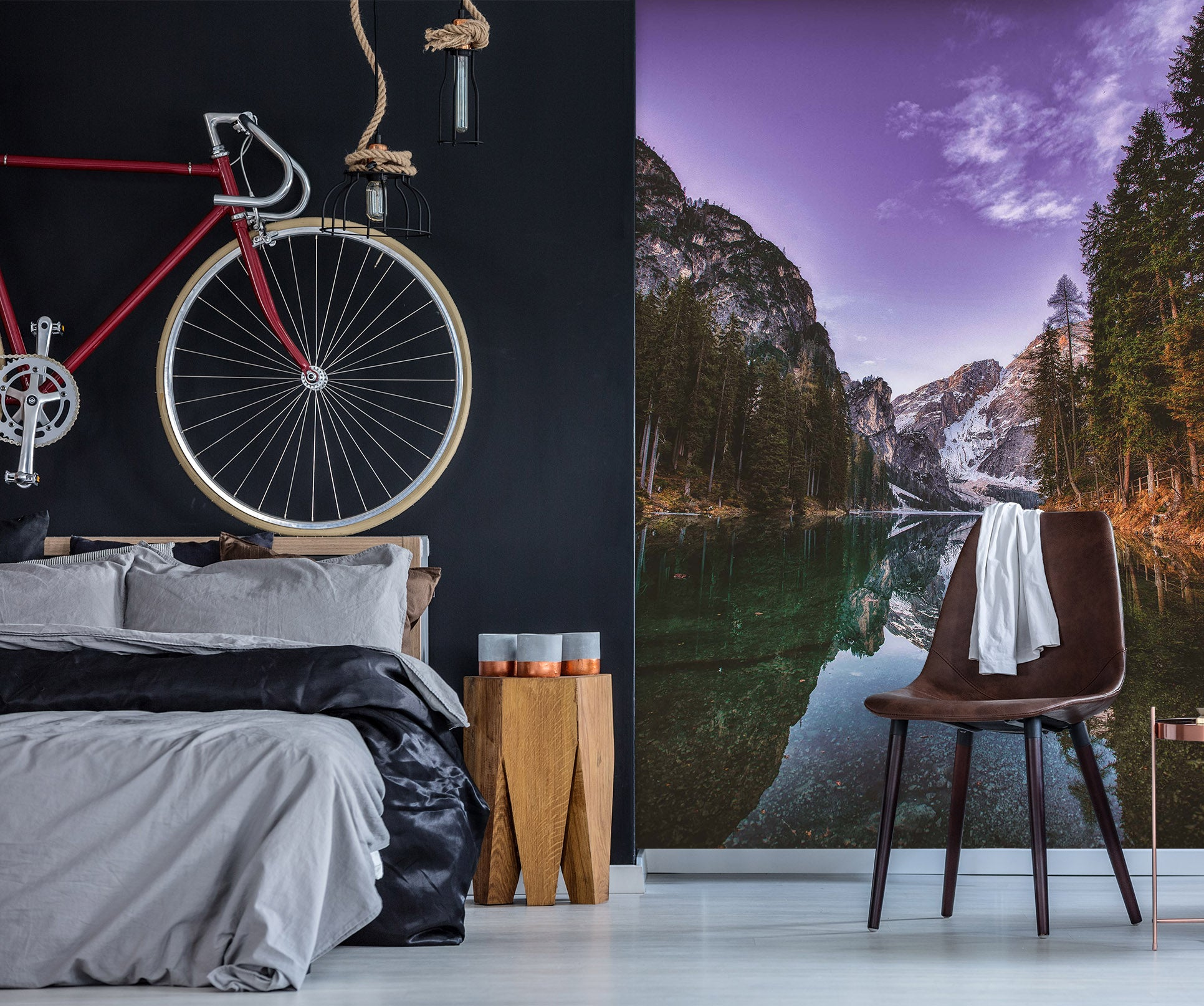 3D Valley River 2088 Wall Murals