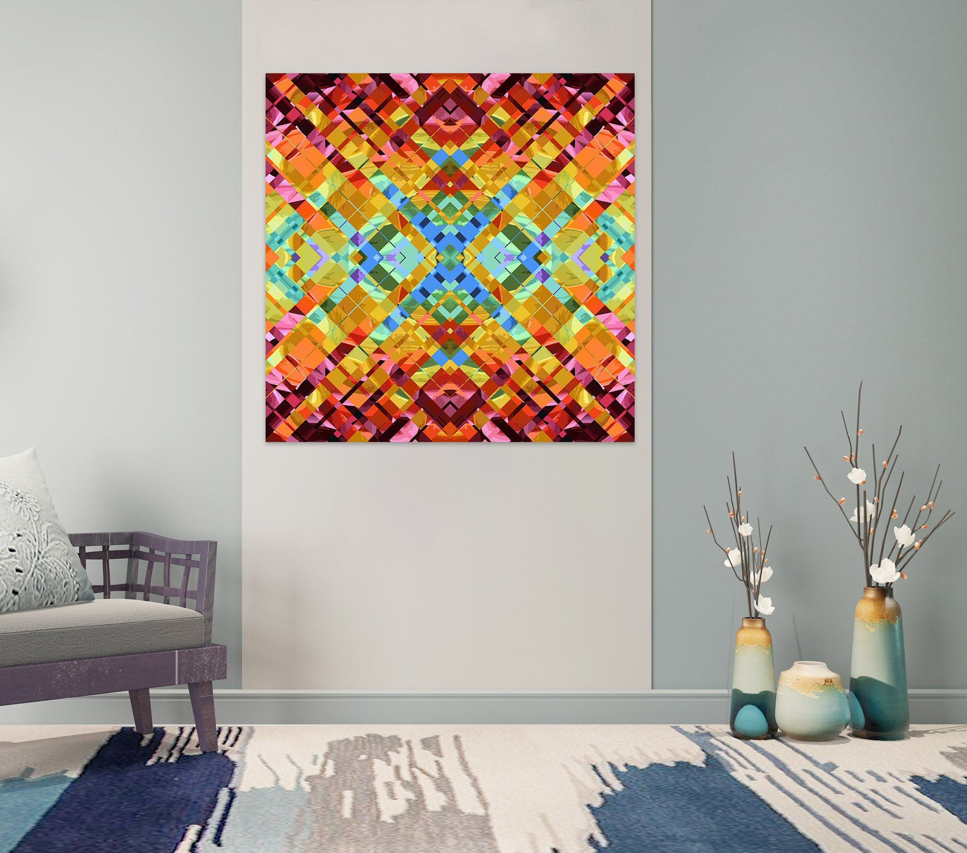 3D Color Weave  011 Shandra Smith Wall Sticker
