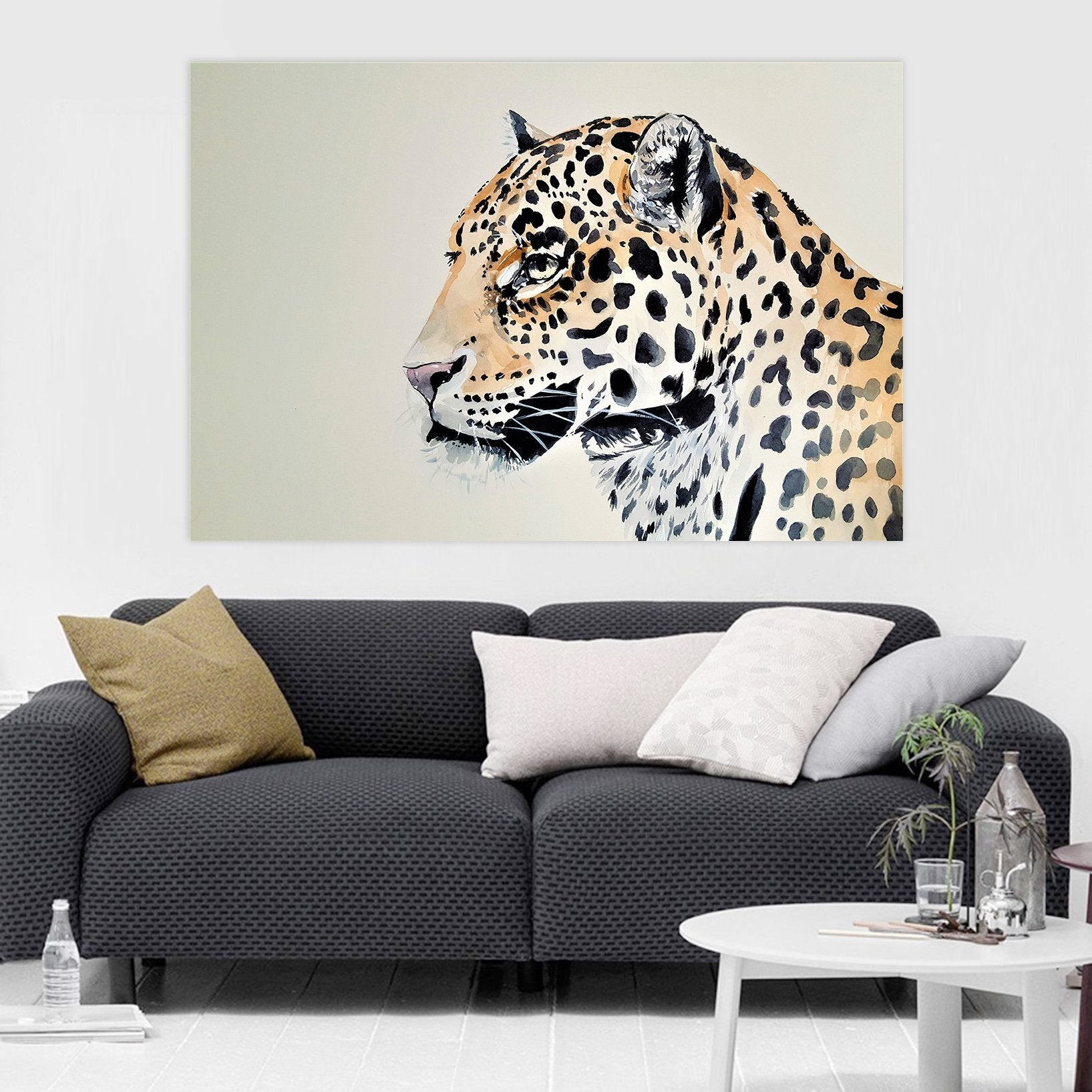 3D leopard  Look 92 Animal Wall Stickers
