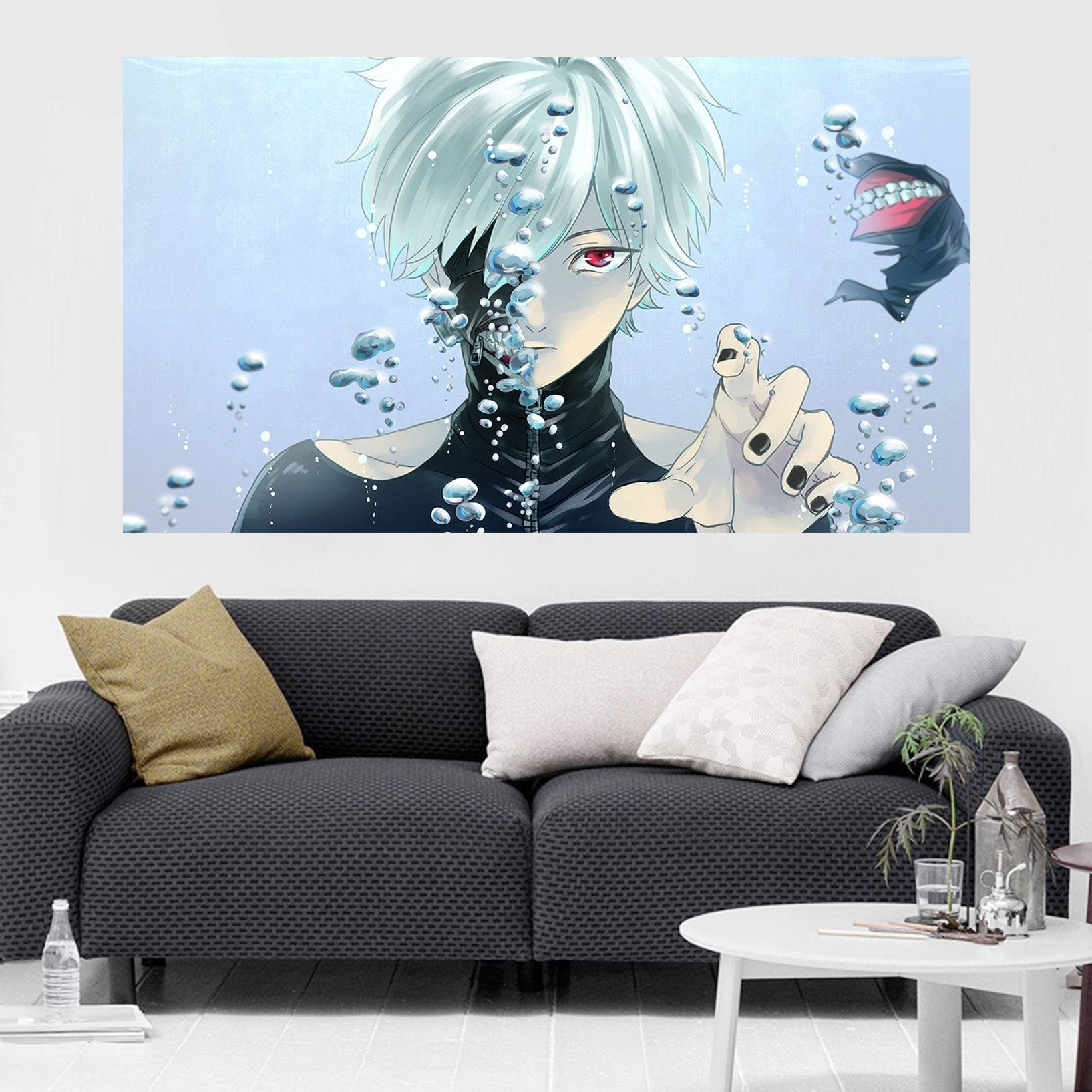 3D Tokyo Ghoul 207 Anime Wall Stickers Wallpaper AJ Wallpaper 2