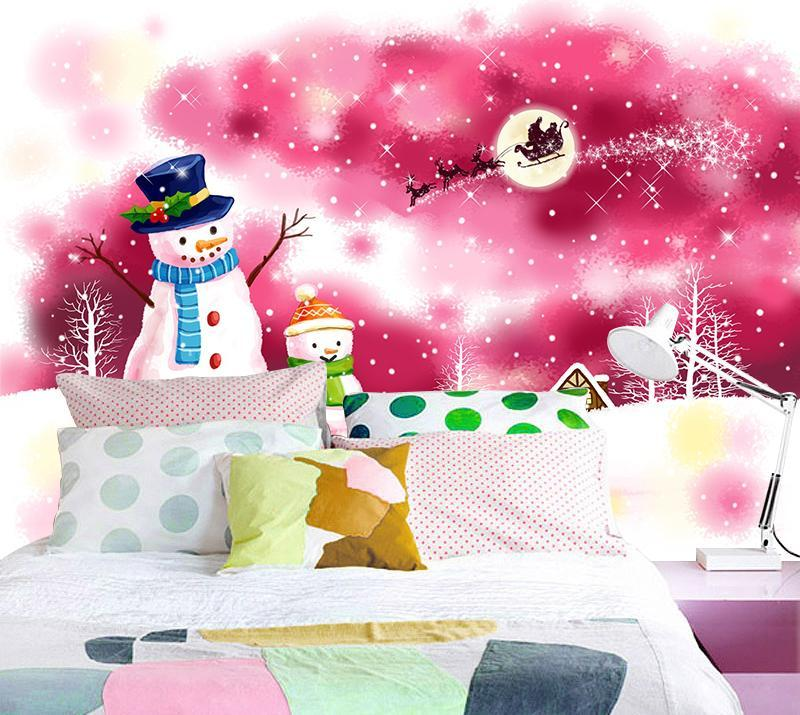 3D Christmas Xmas Snowman 4 Wallpaper AJ Wallpaper