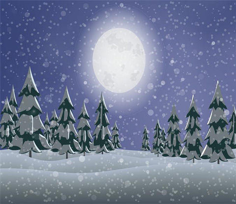 3D Christmas Bright Moon 78 Wallpaper AJ Wallpaper
