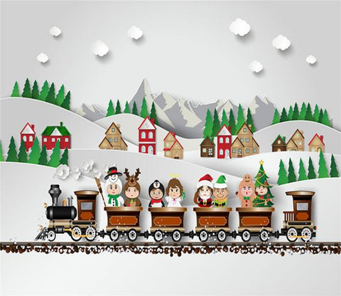 3D Children Train 78 Wallpaper AJ Wallpaper