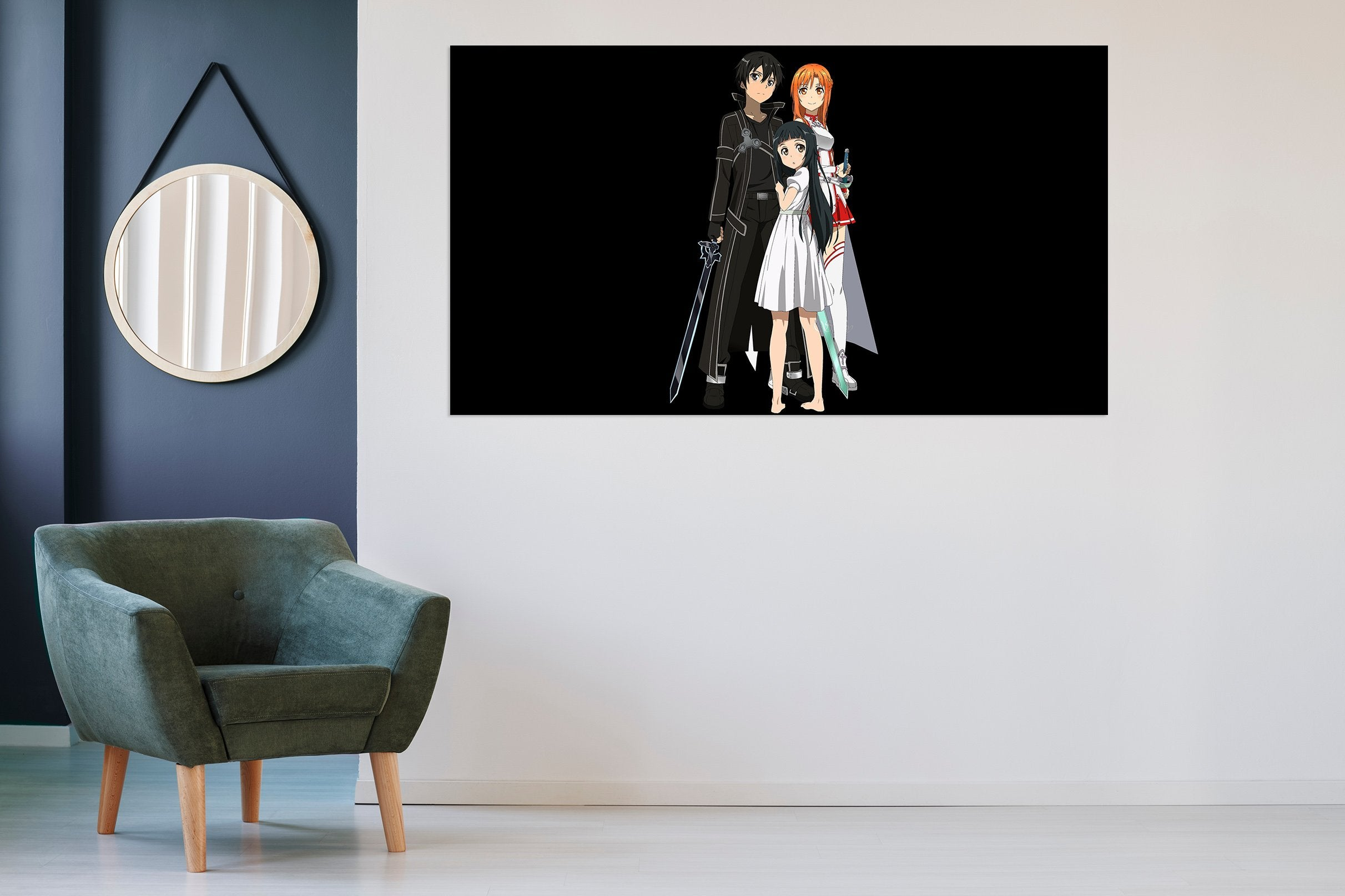 3D Sword Art Online 187 Anime Wall Stickers Wallpaper AJ Wallpaper 2