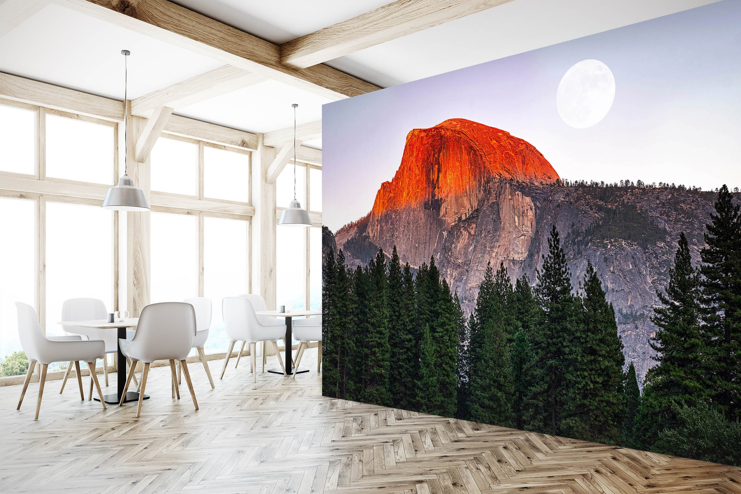 3D Sunset Valley 1453 Marco Carmassi Wall Mural Wall Murals