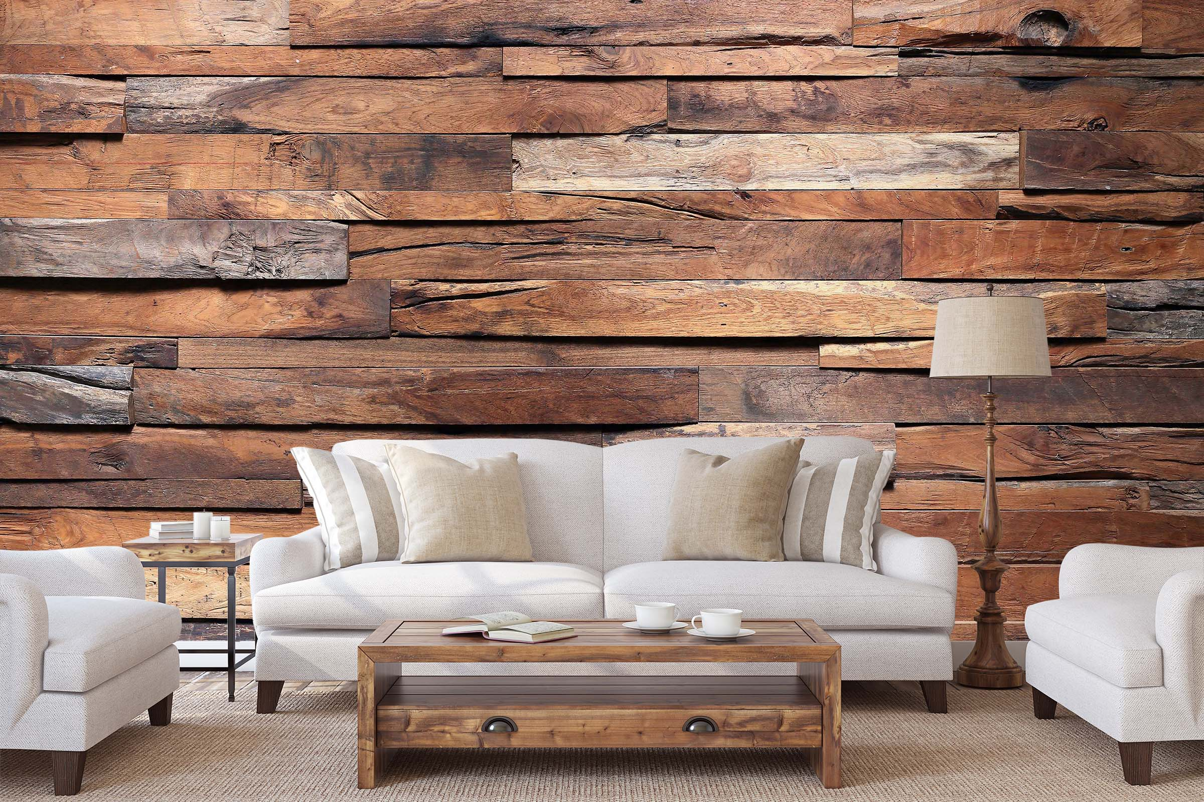 3D Wood Grain 20 Wall Murals