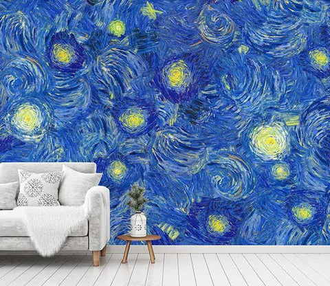 3D Oil Painting Stars 084 Wallpaper AJ Wallpaper