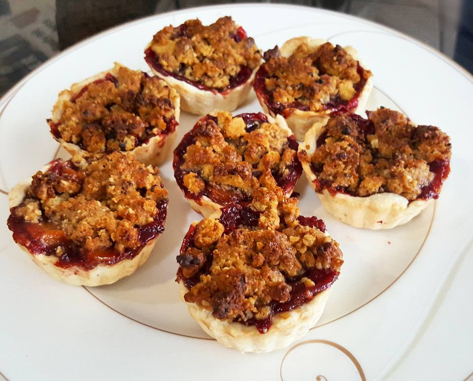 Pastry Idea # 1: SPICED FRUIT TARTS