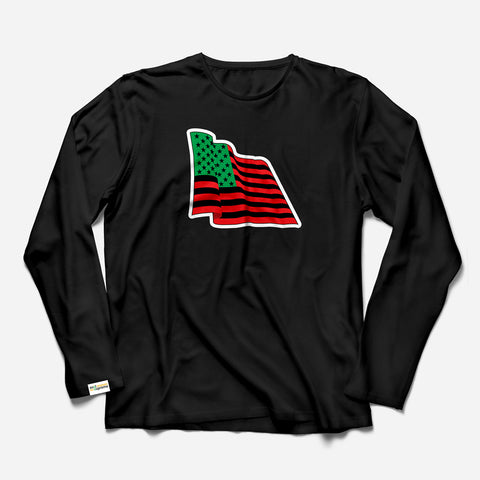 Wave The Flag LS T-Shirt
